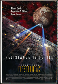 """Star Trek: First Contact (Paramount, 1996). Printer's Proof One Sheet (28"""" X 41""""). Science Fiction"""
