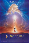 "Movie Posters:Animation, Pinocchio (Buena Vista, R-1992). One Sheet (27"" X 40""). DS Style B. Animation.. ..."