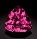 Gems:Faceted, FINE GEMSTONE: RUBELLITE - 12.76 CT.. ...