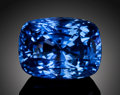 Gems:Faceted, FINE GEMSTONE: UNTREATED BLUE SAPPHIRE - 5.236 CT. . ...