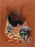 Original Comic Art:Covers, Kelly Freas Birth of Fire (Laser Books, No. 23) PaperbackCover Original Art (Laser Books, 1976)....