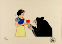 Snow White and the Seven Dwarfs Limited Edition Cel 130/275 (Disney, 1978)