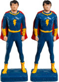 Memorabilia:Comic-Related, Captain Marvel Jr. Figurine Group (Kerr Co., 1946).... (Total: 2Items)