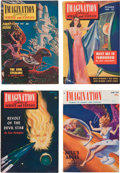 Magazines:Miscellaneous, Imagination Digest Short Box Group (Greenleaf Publishing, 1950-58) Condition: Average FN....