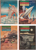 Pulps:Science Fiction, Fantasy and Science Fiction Digest Short Box Group (Fantasy House,Inc., 1949-59) Condition: Average VG....