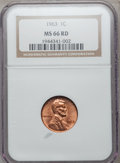 Lincoln Cents: , 1963 1C MS66 Red NGC. NGC Census: (1008/20). PCGS Population(274/4). Mintage: 757,185,664. Numismedia Wsl. Price for probl...