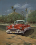 Latin American:Contemporary, REY YANES (Cuban). Pontiac, 2005. Oil on canvas. 27 x 21-1/2inches (68.6 x 54.6 cm). Signed lower left. ...