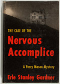 Books:Mystery & Detective Fiction, Erle Stanley Gardner. The Case of the Nervous Accomplice.New York: William Morrow & Company, 1955. First editio...