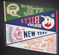 Miscellaneous Collectibles:General, Misc. Sports Vintage Pennants Lot of 7....