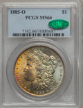 Morgan Dollars: , 1885-O $1 MS66 PCGS. CAC. PCGS Population: (2827/368). NGC Census: (4700/576). CDN: $190 Whsle. Bid for problem-free NGC/PC...