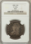 Bust Half Dollars, 1808 50C Good 6 NGC. O-106a. NGC Census: (7/446). PCGS Population(4/571). Mintage: 1,368,600. Numismedia Wsl. Price for pr...