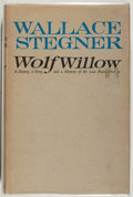 Books:Americana & American History, Wallace Stegner. Wolf Willow. A History, a Story, and a Memoryof the Last Plains Frontier. London: Heinemann, 1...