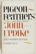 Books:Fiction, John Updike. Pigeon Feathers and Other Stories. New York:Alfred A. Knopf, 1962. First edition. Octavo. 279 page...