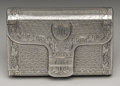 Silver Smalls:Snuff Boxes, A George III Silver Snuff Box . John Shaw, Birmingham, England.1817-18. Silver and silver gilt. Marks: (lion passant), (...