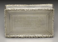 Silver Smalls:Snuff Boxes, A William IV Silver Presentation Snuff Box. William Phillips,Birmingham, England. 1833-34. Silver and silver gilt. Marks:...