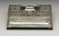 Silver Holloware, American:Other , An American Silver Inkstand. Gorham Manufacturing Company,Providence, Rhode, Island. 1892. Silver. Marks: (lion-anchor-G...