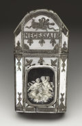 Silver Smalls:Other , A French Mother-of-Pearl and Silver Necessaire de Toilette. Unknownmaker, France. Early Nineteenth Century. Mother-of-pea...