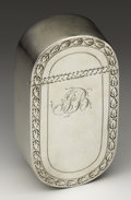 Silver Smalls:Snuff Boxes, A George III Silver Snuff Box. Ann Robertson, Newcastle, England.Late Eighteenth Century. Silver. Marks: (lion passant),...
