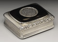 Silver Smalls:Snuff Boxes, A George III Silver and Tortoiseshell Snuff Box . Lawrence &Co., Birmingham, England. 1818-19. Silver, silver gilt, torto...(Total: 1 Item)