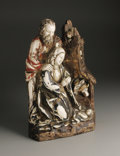 Decorative Accessories, A Spanish Colonial Ivory and Wood Figural Group. Unknown maker, Colonial Spain. Eighteenth/Nineteenth Century. Ivory and w...