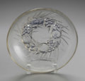 Art Glass:Lalique, A French Art Glass Bowl. Rene Lalique, Paris, France. Designed 1928. Clear and opalescent glass, gilding. Marks: R. LAL...