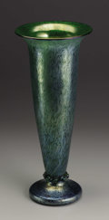 Art Glass:Loetz, An Austrian Art Glass Vase. Loetz, Austria. Circa 1900. Opalescentglass. Marks: Loetz Austria. 17.1 in. tall. The ...