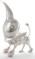 Post-War & Contemporary:Contemporary, LIAO YIBAI (Chinese, b. 1971). Can I fly high ?, 2009. Stainless steel. 28 x 17 x 11 inches (71.1 x 43.2 x 27.9 cm). Ed....