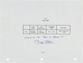 Transportation:Space Exploration, Apollo 11 Flown Flight Plan Page Originally from the PersonalCollection of Mission Lunar Module Pilot Buzz Aldrin, Signed and...