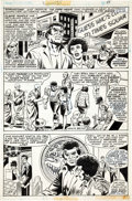 Original Comic Art:Panel Pages, Marie Severin and Frank Giacoia Power Man #35 Page 11Original Art (Marvel, 1975)....