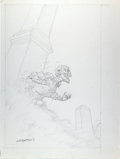Original Comic Art:Miscellaneous, Bernie Wrightson Zombie Pencil Illustration Original Art(undated)....