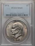 Eisenhower Dollars, (4)1978 $1 MS65 PCGS. PCGS Population (1130/341). NGC Census: (445/134). Mintage: 25,702,000. Numismedia Wsl. Price for pro... (Total: 4 coins)