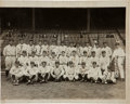 Autographs:Photos, 1927 New York Yankees Team Signed Photograph....