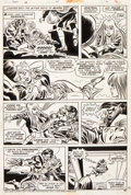 Original Comic Art:Panel Pages, Frank Robbins and Frank Giacoia Fear #25 Page 16 Original Art (Marvel, 1974)....