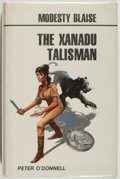 Books:Mystery & Detective Fiction, Peter O'Donnell. The Xanadu Talisman. [London]: SouvenirPress, [1981]. First edition, first printing. Octavo. 288 p...