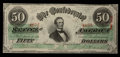 Confederate Notes:1863 Issues, T57 $50 1863 PF-8 Cr. 414. ...
