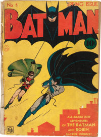 Batman #1 (DC, 1940) Condition: PR