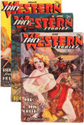 Pulps:Western, Spicy Western Stories Group (Culture, 1937-41) Condition: Average VG+.... (Total: 4 Comic Books)