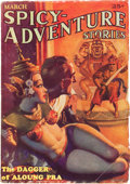 Pulps:Adventure, Spicy Adventure Stories - March 1935 (Culture, 1935) Condition: VG+....