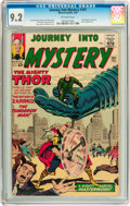 Silver Age (1956-1969):Science Fiction, Journey Into Mystery #101 (Marvel, 1964) CGC NM- 9.2 Off-whitepages....