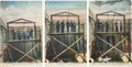 Photography:Cabinet Photos, Western Hanging Photos: Set of Three 1904 Postcards. ... (Total: 3Items)