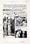 Original Comic Art:Complete Story, Mike Roy and Mike Peppe New Romances #19 Complete 10-PageStory Original Art (Standard, 1953)....