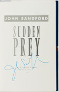 Books:Mystery & Detective Fiction, John Sandford. SIGNED. Sudden Prey. New York: G. P. Putnam's Sons, 1996. First edition. Signed by the author o...