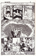 Original Comic Art:Panel Pages, Richard Corben Solo #2 Richard Corben Page 8 Original Art(DC, 2005)....