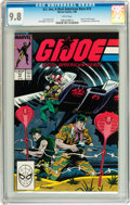 Modern Age (1980-Present):War, G. I. Joe, A Real American Hero #73 (Marvel, 1988) CGC NM/MT 9.8 White pages....