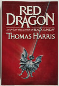 Books:Mystery & Detective Fiction, Thomas Harris. Red Dragon. New York: G. P. Putnam's Sons,1981. First edition. Octavo. 348 pages. Publisher's bi...