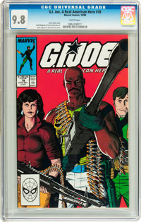 G. I. Joe, A Real American Hero #78 (Marvel, 1988) CGC NM/MT 9.8 White pages