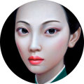 Post-War & Contemporary:Contemporary, ZHANG XIANGMING (Chinese, b. 1975). Beijing Girl Series No.10, 2011. Oil on canvas. 47 x 47 inches (119.4 x 119.4 cm) o...