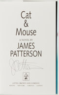 Books:Mystery & Detective Fiction, James Patterson. SIGNED. Cat & Mouse. Boston: Little,Brown and Company, 1997. First edition. Signed by the au...