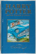 Books:Fiction, J. K. Rowling. Harry Potter and Chamber of Secrets.[London]: Bloomsbury, [1999]. First U.K. deluxe edition. Octavo....
