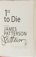 Books:Mystery & Detective Fiction, James Patterson. SIGNED. 1st to Die. Boston: Little, Brownand Company, 2001. First edition. Signed by the aut...